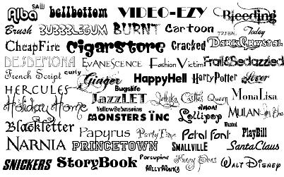 Font for Signage