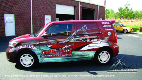 Large Format Printing for Vehicle Wraps