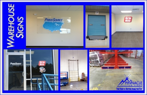 Warehouse Location Signs | Warehouse Signage Boards | Custom Warehouse Signs