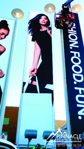 Flex Face Banners | Flex Face Sign Installation | Sign Installation Prices