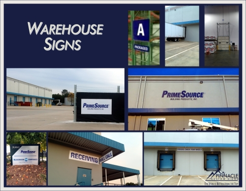 Warehouse Signs | Hanging Warehouse Signs | Warehouse Aisle Signs