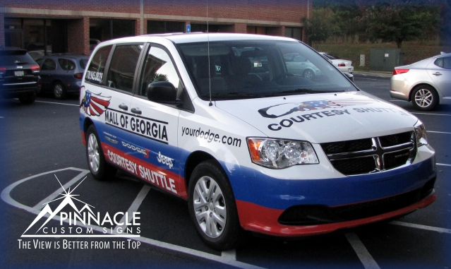 Vehicle Graphics 2 - Pinnacle Custom Signs The Nation's Sign