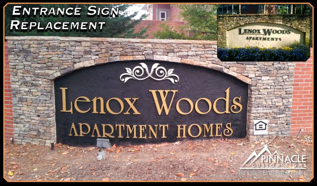 Entrance signs for communities | Neighborhood entrance designs