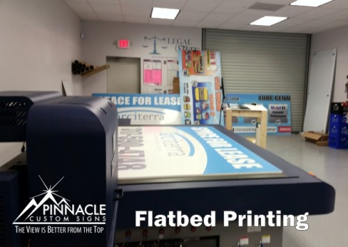 Flatbed Printing Services | Flatbed Printing Process