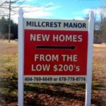 Real Estate Signs | Post & Panel Sign | Keller Williams Realty | Dacula, GA | Pinnacle Custom Signs