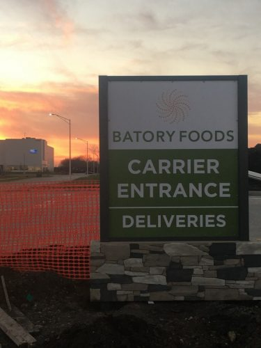 Batory Foods Entrance Monument