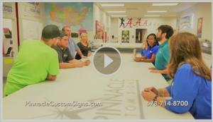Pinnacle Custom Signs Video