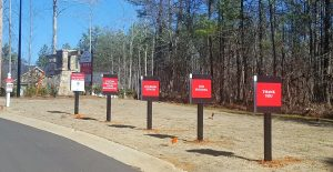 Subdivision Amenity Signage at Mulberry Estates