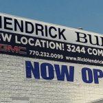 Rick Hendrick Now Open Banner