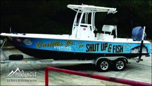 Boat Graphics Full Wrap
