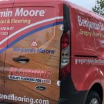 Benjamin Moore Vehicle Wrap