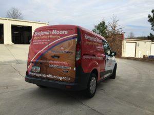 Vehicle Wrap for Benjamin Moore
