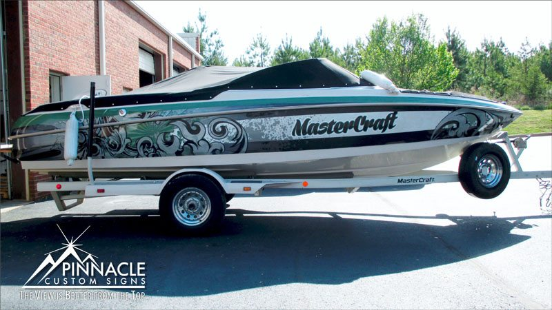 Boat Wrap for Keith Allen