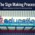 Learn about the process to get a business sign