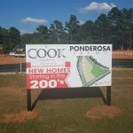 Subdivision Informational Signage for Ponderosa Farms
