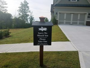 Information Boxes for Sterling on the Lake Subdivision
