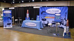 Trade Show Booth for Holtkamp Heating & Air   Suwanee GA