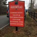 Subdivision Wayfinding Signage for Lake Arrowhead