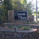 Subdivision Monument Sign for Elgaen Place