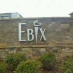 Subdivision Monument Sign for Ebix