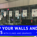 Wake up your Walls and Windows with Clings and Graphics