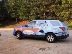 Holtkamp Heating & Air Ford Explorer Wrap