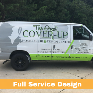 The Great Cover-Up | Complete Vehicle Graphic Design | Pinnacle Custom Signs