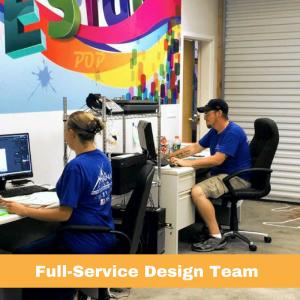 Pinnacle Design Team | Full Service Design and Graphics Creation | Pinnacle Custom Signs | Buford GA