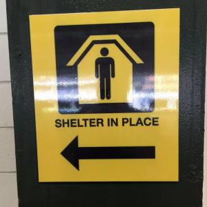 Shelter in Place Signage | Georgia State University | Pinnacle Custom Signs