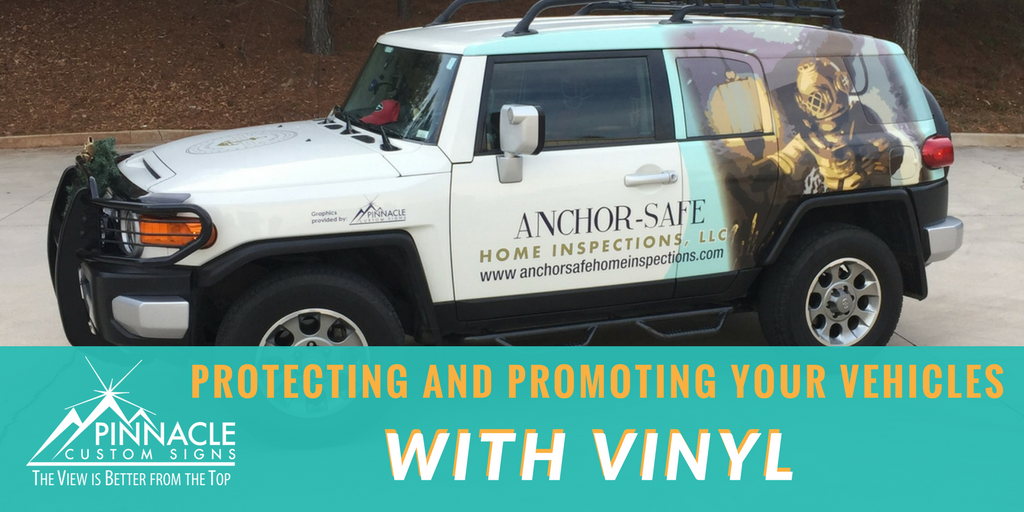 Protecting and Promoting your Vehicle with Graphics | Graphics and Branding | Vehicle Wraps | Pinnacle Custom Signs