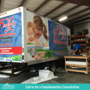 Promote Your Vehicle with Vinyl | Fleet Truck Graphics | Pinnacle Custom Signs