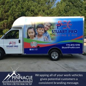 Fleet vehicle wraps are an effective means of branding your vehicles.