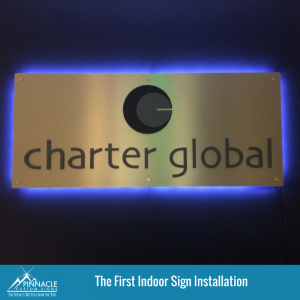 Original Charter Global Indoor Signage | Pinnacle Custom Signs