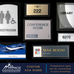 Custom ADA signs for your business