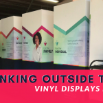 Think Outside the Box with Hollo | Vinyl Displays | Tradeshows | Pinnacle Custom Signs