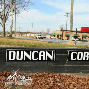 Monument Sign at the Orignial Corner of Duncan Corner | Pinnacle Custom Signs | Buford, GA