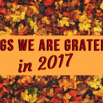 Top 10 Things We Are Grateful for in 2017