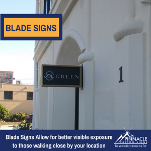 Blade Sign for La Green at Andrew's Square in Buckhead, GA