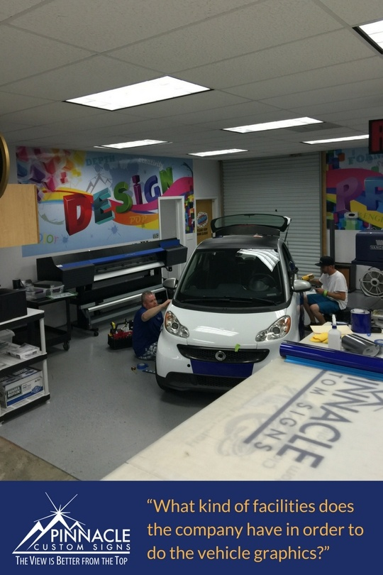 Does your vehicle graphics company have the ability to do this?