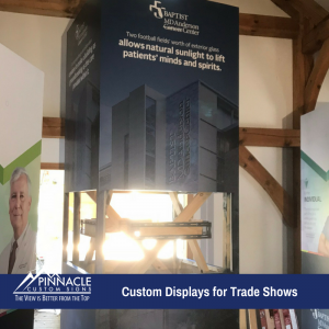 Custom Displays for Trade Show Booth Presentation | Pinnacle Custom Signs