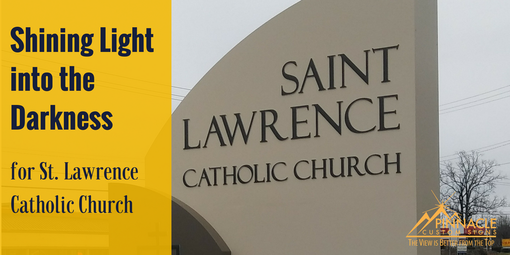 Shining Light Into The Darkness For St Lawrence Catholic Church