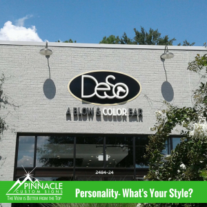 What Style Does Your Sign Convey | Channel Letters | Pinnacle Custom Signs | Atlanta, GA