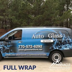 Full Vehicle Graphics for Auto Glass Network in Dacula GA