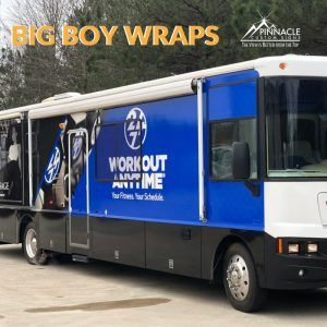 RV Vehicle Wrap for Workout Anytime