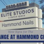 New Signs for the Exchange at Hammond in Sandy Springs