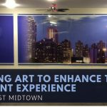 Installing Art to enhance the Apartment Experience for Apex West Midtown
