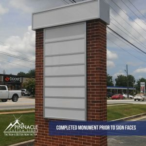 KEC Realty Monument Sign Project