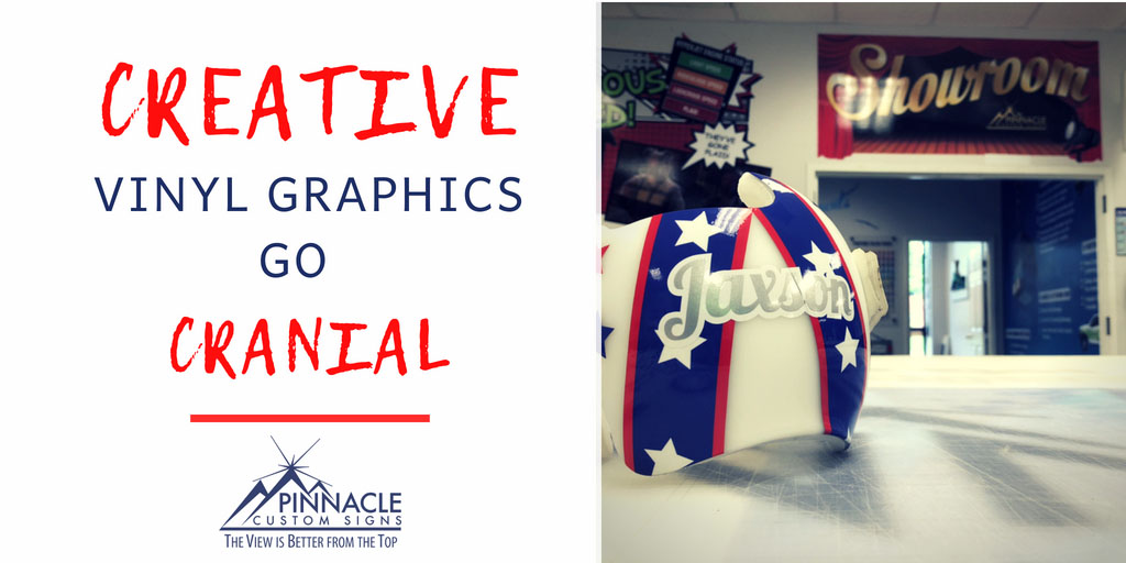 Creative Vinyl Graphics Go Cranial