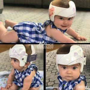 Girl power cranial helment design for Leighann's daughter