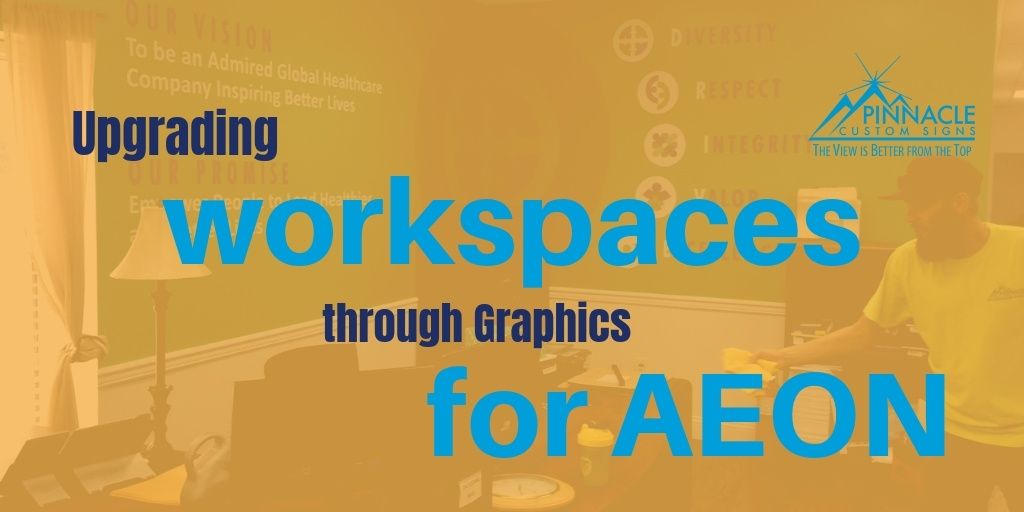 Upgrading Work Spaces through Graphics for Aeon